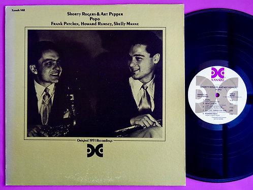 SHORTY ROGERS & ART PEPPER / POPO
