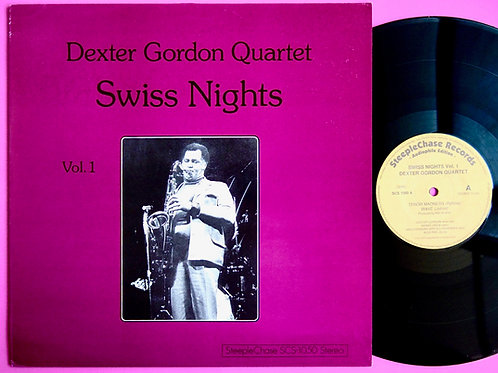 DEXTER GORDON / SWISS NIGHTS VOL.1