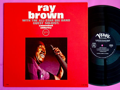 RAY BROWN / WITH THE ALL STAR BIG BAND