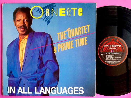 ORNETTE COLEMAN / IN ALL LANGUAGES