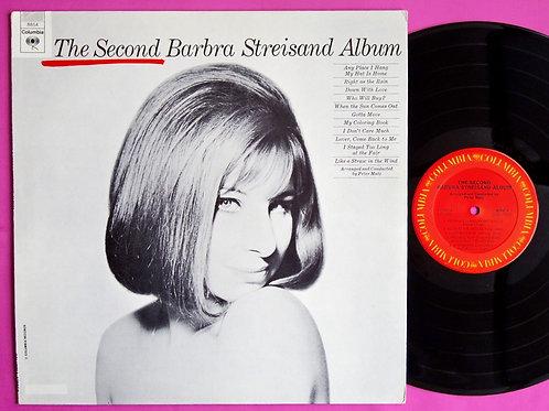 BARBRA STREISAND / THE SECOND BARBRA STREISAND ALBUM