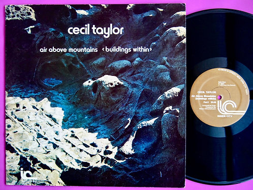 CECIL TAYLOR / AIR ABOVE MOUNTAINS