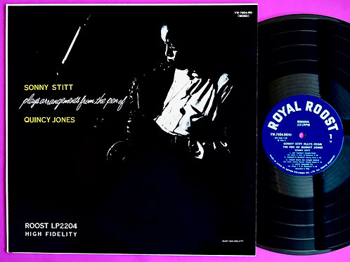 SONNY STITT / PLAYS FROM THE PEN OF QUINCY JONES