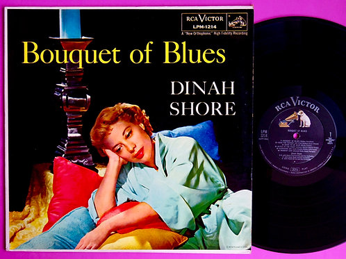 DINAH SHORE / BOUQUET OF BLUES