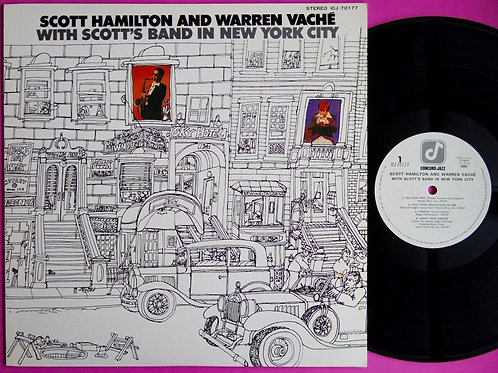 SCOTT HAMILTON & WARREN VACHE / WITH SCOTT'S BAND IN NEW YORK CITY