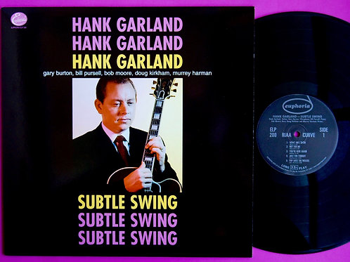 HANK GARLAND / SUBTLE SWING
