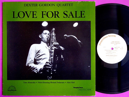 DEXTER GORDON / LOVE FOR SALE