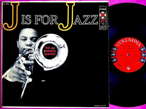 J.J. JOHNSON / J IS FOR JAZZ