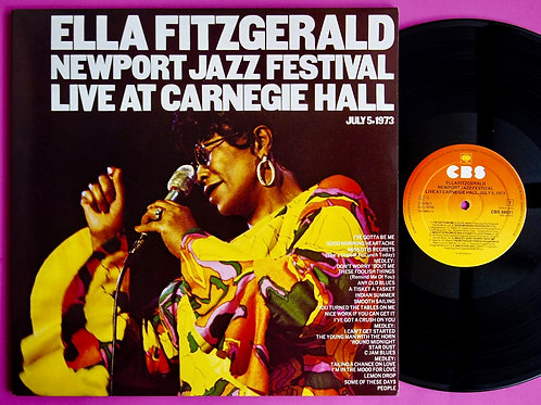 ELLA FITZGERALD / LIVE AT CARNEGIE HALL 1973