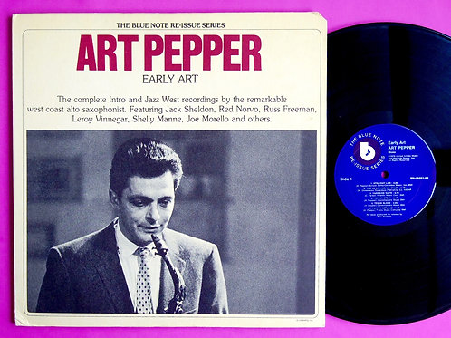ART PEPPER / EARLY ART