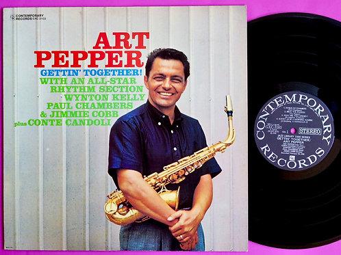 ART PEPPER / GETTIN' TOGHTHER