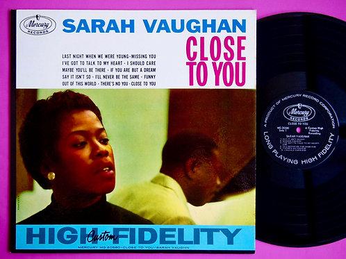 SARAH VAUGHAN / CLOSE TO YOU