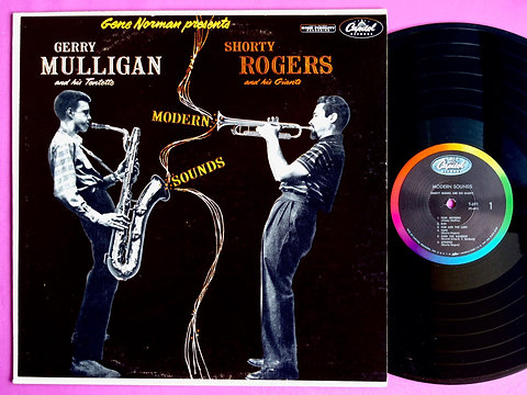 GERRY MULLIGAN & SHORTY ROGERS / MODERN SOUNDS