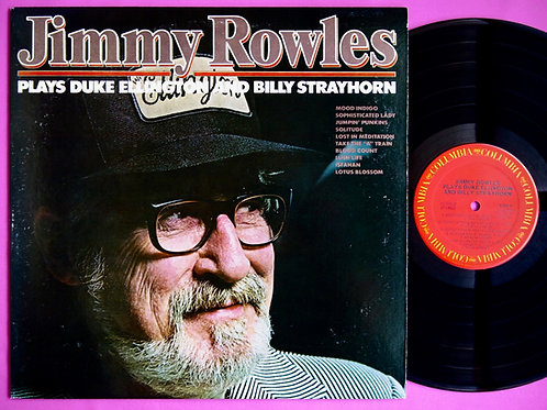 JIMMY ROWLES / PLAYS DUKE ELLINGTON & BILLY STRAYHORN