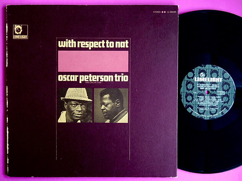 OSCAR PETERSON / WITH RESPECT TO NAT