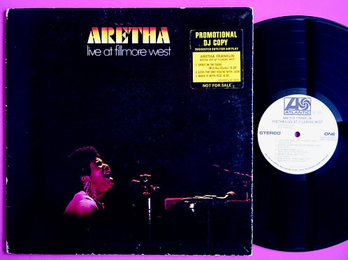 ARETHA FRANKLIN / LIVE AT FILLMORE WEST