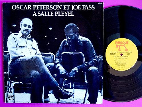 OSCAR PETERSON & JOE PASS / A SALLE PLEYEL