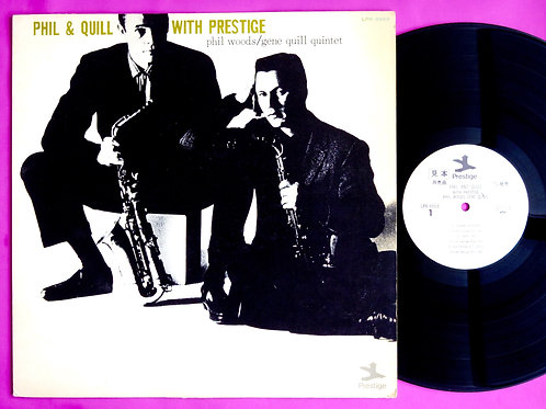 PHIL WOODS & GENE QUILL / PHIL & QUILL