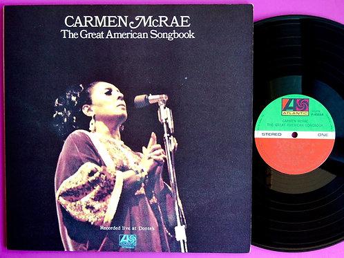 CARMEN McRAE / GREAT AMERICAN SONGBOOK