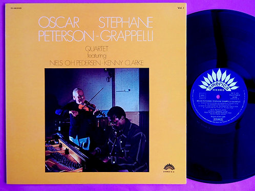 OSCAR PETERSON & STEPHANE GRAPPELLI / QUARTET VOL.1