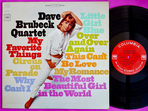 DAVE BRUBECK / MY FAVORITE THINGS