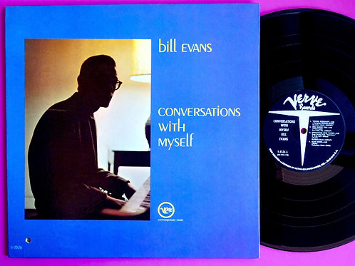 BILL EVANS / CONVERSATIONS WITH MYSELF