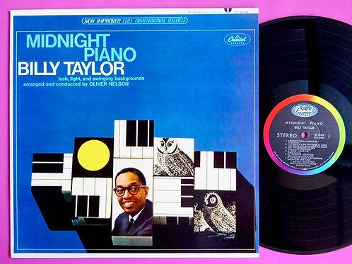 BILLY TAYLOR / MIDNIGHT PIANO