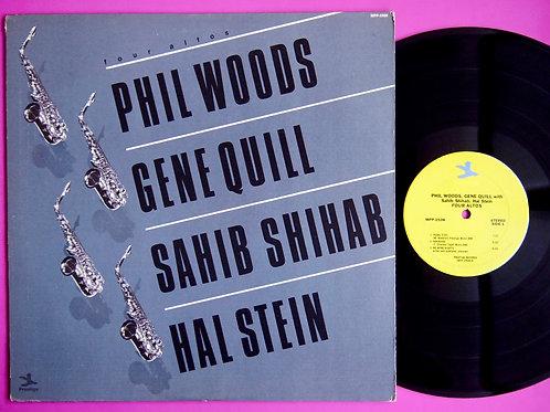 PHIL WOODS, GENE QUILL, SAHIB SHIHAB, HAL STEIN / FOUR ALTOS