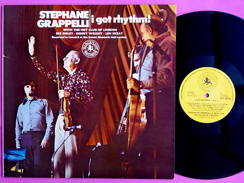 STEPHANE GRAPPELLI / I GOT RHYTHM