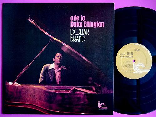 DOLLAR BRAND / ODE TO DUKE ELLINGTON