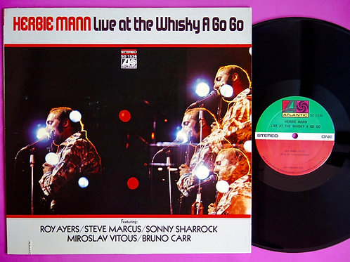 HERBIE MANN / LIVE AT THE WHISKY A GO GO