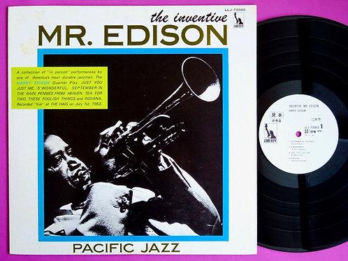 HARRY EDISON / INVENTIVE MR. EDISON