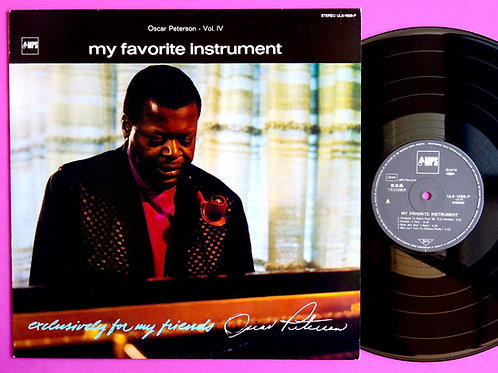 OSCAR PETERSON / MY FAVORITE INSTRUMENT