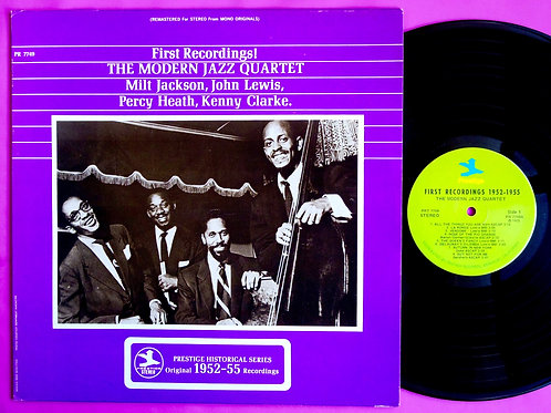 MODERN JAZZ QUARTET / FIRST RECORDINGS
