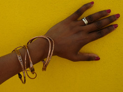 Copper bangle selection