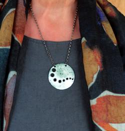 Altered landscapes pendant