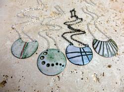 Altered landscapes pendants