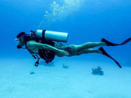 Scuba Diving in Kovalam! Yes its true !