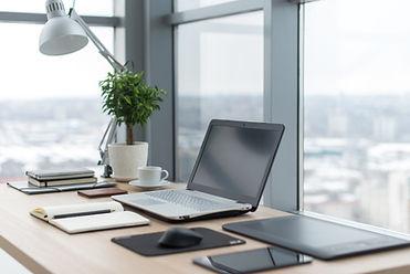 Ufficio con una vista