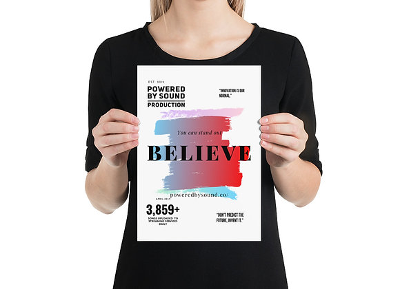 Believe Series Poster