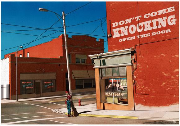 Gilles Warmoes illustration graphic design-Sun Studio&Rock'n'Roll
