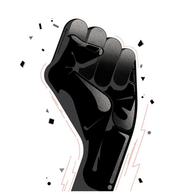 Hands_BLM_Website Gilles Warmoes illustr