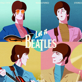 THE FAB FOUR REMASTERED -1962-1970