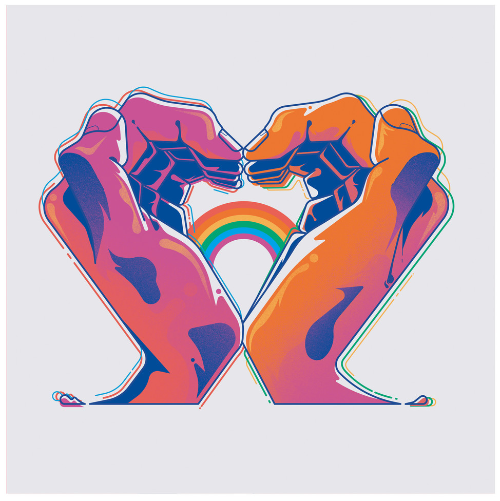 Hands_LGBTQ_Website Gilles Warmoes illus