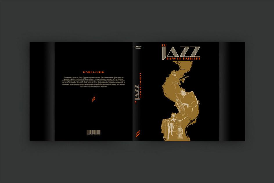 Gilles Warmoes illustration graphic designJazz in The Barrel - 1