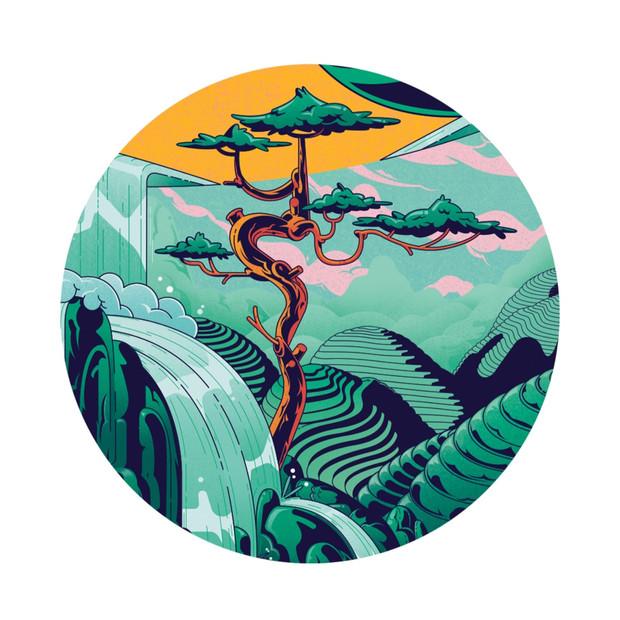 Gilles Warmoes - Illustrateur Graphiste-The tea love people decor detail