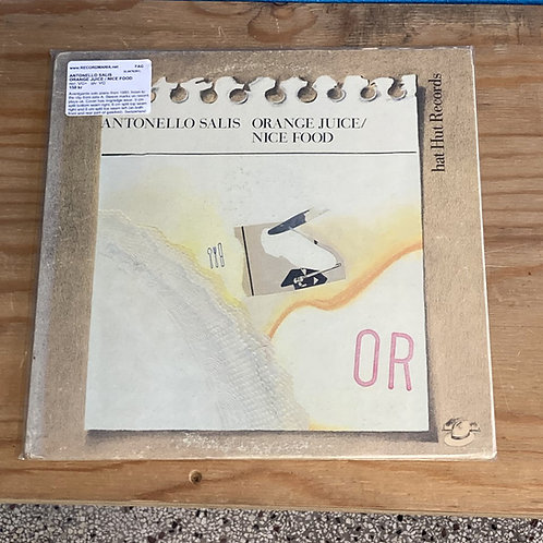 "Antonello Salis ""Orange Juice/Nice Food"" LP"