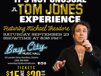 A 'Tom Jones Experience' in Hamilton