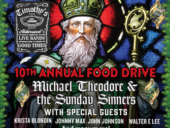10th Annual Food Drive!!