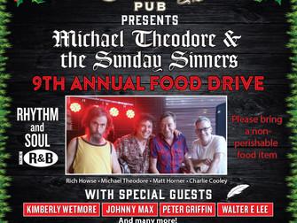 9th Annual Food Drive - Dec. 18